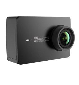 Камера Yi 4K. 4K/30PFS. Новая. Black