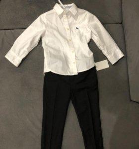 Классические брюки и рубашка HM
