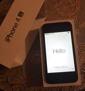 iPhone 4s 16 Gb Black