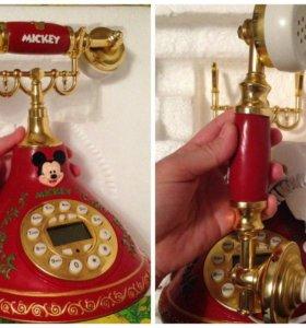 Новый стационарный телефон в коробке Дисней