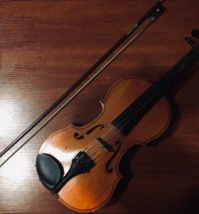Скрипка, 3/4 и смычок