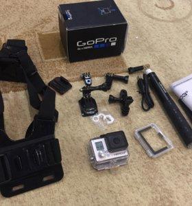 Экшн-Камера GoPro Hero 3+ Silver Edition