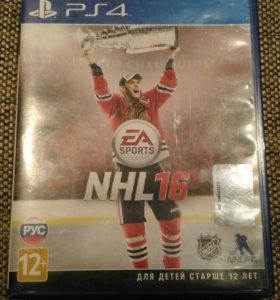 Диск NHL 16 для PS4