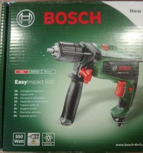 Новая дрель Bosch Easy impact 500