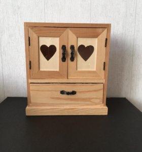 Мини шкафчик деревянная заготовка