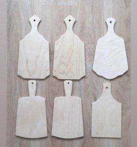 Деревянные заготовки разделочные доски