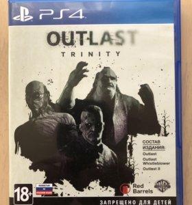 Продам игру для (PS4) OUTLAST
