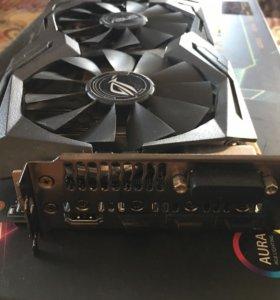 Видеокарта Asus GTX 1060 6GB ROG STRIX