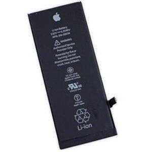Аккумуляторы для Apple iphone 4s/5/5s/6/6s/7 и др.