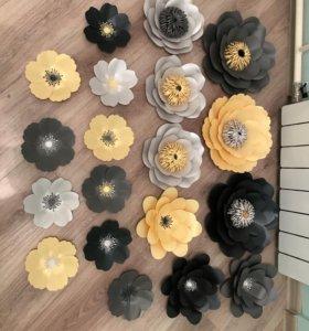 Цветы для декора