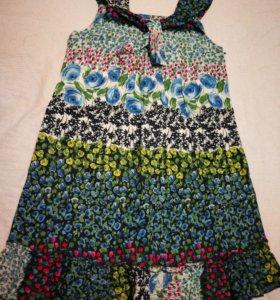 Платье для девочки хлопок