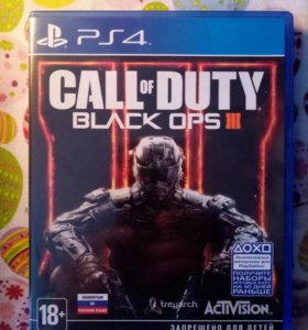 Обмен Call of Duty Black Ops 3 PS4