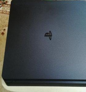 Playstation 4 slim(PS4 Slim)/500гб с играми