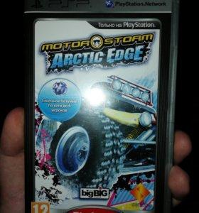 Motor Storm Arctic Edge PSP