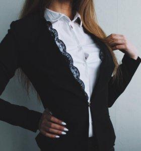 Чёрный пиджак классика