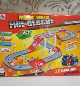 Дорога Пожарная часть