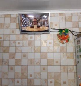 Подключу монитор от компьютера к ТВ приставке.