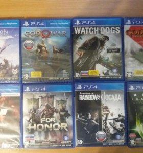 Игры для Sony PS 4