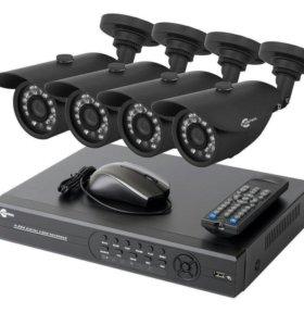 Комплект видеонаблюдения HD (1280x720)