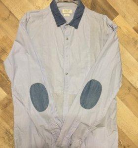 Рубашка Zara men новая р.50
