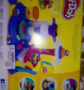 Плейдо, фабрика пирожного Play-Doh