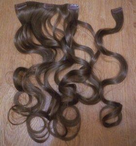 """Искусственные волосы на заколках """"Pretty Easy"""""""