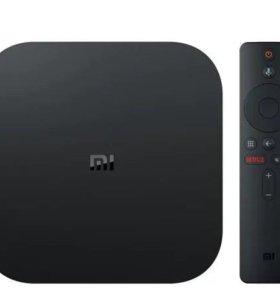 Tv приставка Mi box S