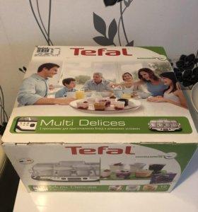 Йогуртница Тефаль 12 баночек Tefal