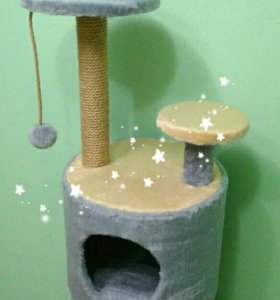 Домик Когтеточка для кошки новый