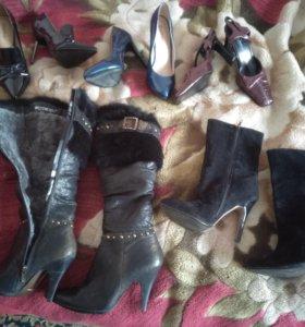 Обувь 37р.цена за все. Новая, и б/у