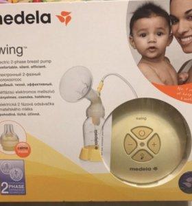 Молокоотсос Medela Swing+пакеты Avent