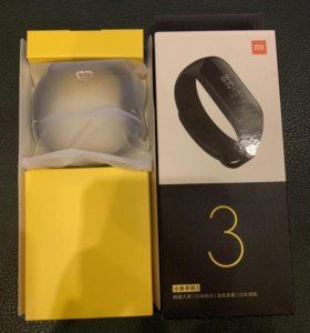 Фитнес-браслет Xiaomi Mi Band 3, Black