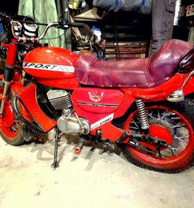 Мотоцикл МИНСК марка ММВЗ•3 1992г выпуска.