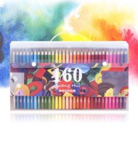 Цветные карандаши 160 цветов. НОВЫЕ.