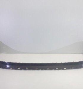 Юбка спойлер бампера заднего VW TOUAREG 15-  б/у 7P6807521HGRU 4*