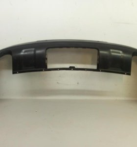 Спойлер юбка бампера заднего  AUDI Q7 08- б/у а36 4L0807521JGRU
