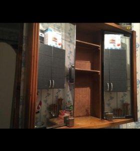 Шкафчик навесной с зеркалами