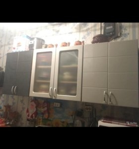 Кухонный гарнитур «серебряный дождь»