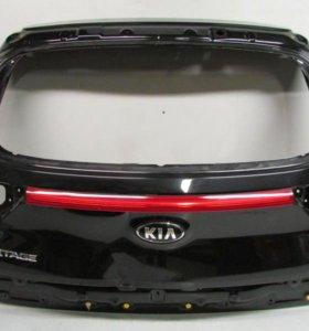 Крышка багажника KIA SPORTAGE 16- б/у 73700F1000 73700F1010 3*