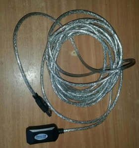 Провод для удлинения USB-порта 5 метров