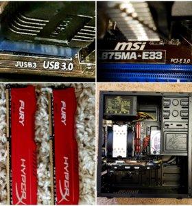 Игровой компьютер!!!!! i5, GTX 1060/6GB, 16gb,