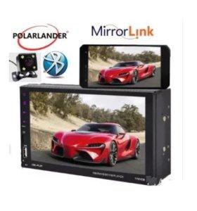 Универсальная 2 DIN S40 - 7дюймов + камера