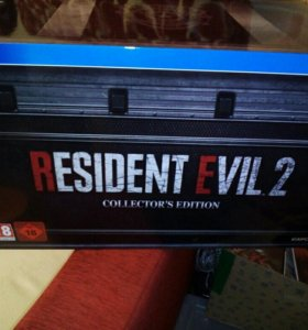 RESIDENT EVIL 2 Remake - Collector Edition PS4.