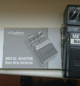 Педаль Heavy metal distortion Новая
