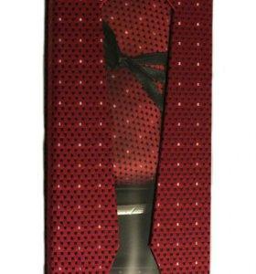 Подарочный набор галстук 4в1