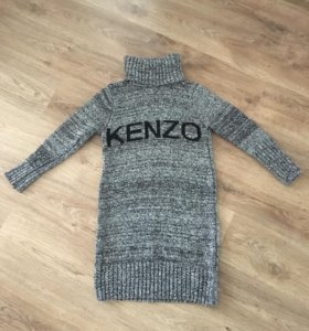 Вязаное платье Kenzo