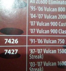 Рычаги тормоза и газа vulcan750