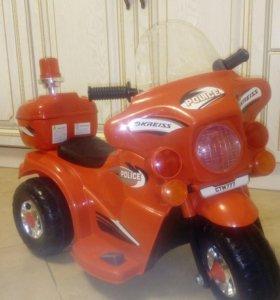 Детский скутер мотоцикл