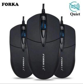 Новые игровые бесшумные мышки Forka