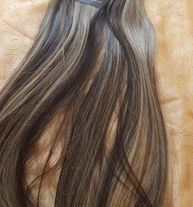 Волосы на заколках наборы